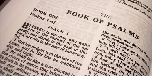 This is the Book of Psalms, which is found in the Old Testament. It was Israel's hymnal, containing hymns of praise to God for personal and national salvation, and contains the cries of God's people in difficult situations. The Psalmists looked to Go