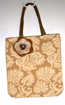 A neutral bag with a fun flair.