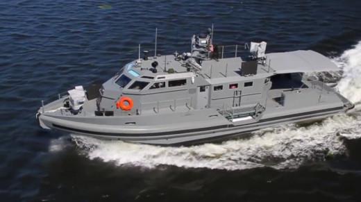 U.S. Navy Coastal Command Boat
