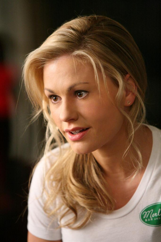 Sookie Stackhouse is portrayed in the HBO series by the beautiful Anna Paquin.