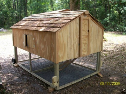 Portable Free Range chicken coop