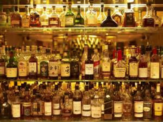 """""""So what type of drink did you have?"""" """"Aged whiskey."""" """"Perfect! Whiskey adds flavor."""""""