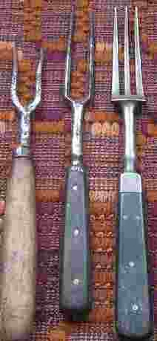 Swedish forks 1700 on to 1800