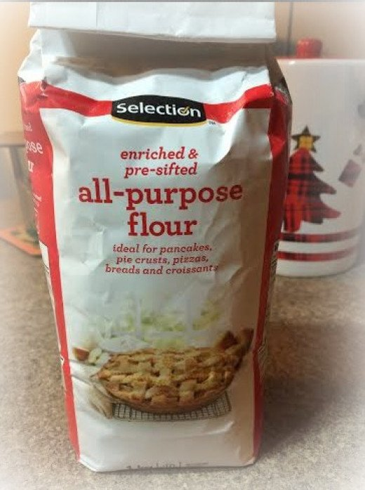 All purpose flour for homemade biscuits~