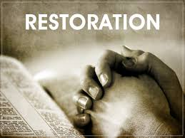 God's Restoration time.