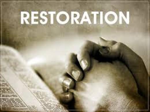 God's Restoration time.