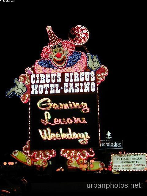 Circus Circus Las Vegas marquee