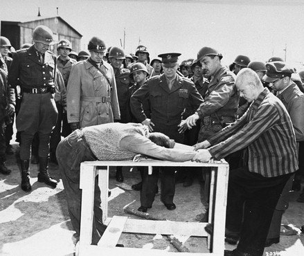 Torture during the Holocaust. Looks painful! (public domain)