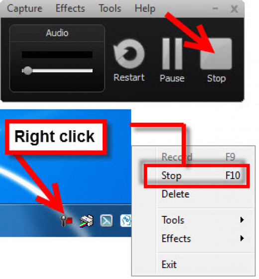 How to Stop Recording in Camtasia