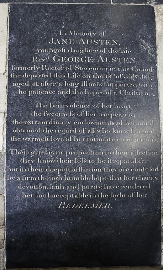 Jane Austen's memorial