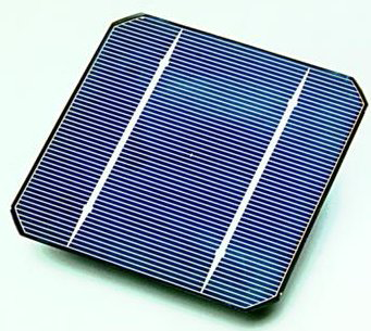 A typical solar cell