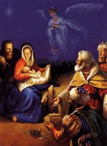 Mary, son and wise men