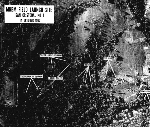 Missile Sites in Nuclear whose discovery triggered the Crisis