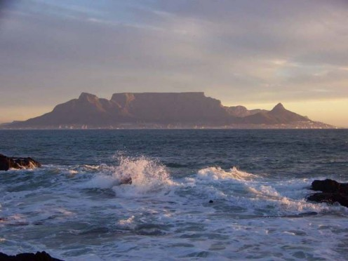 Bloubergstrand - View on Table Mountain