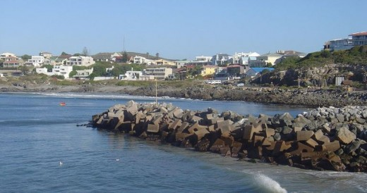 Yzerfontein, West Coast, South Africa @ Wikipedia