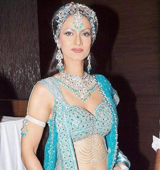 Shikha Swaroop as the new Chandrakanta which featured on Sahara One