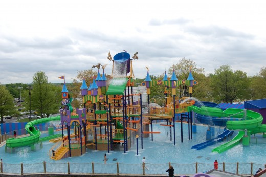 Count's Splash Castle in Sesame Place