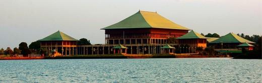 Administrative Capital - Sri Jayawardhanapura Kotte - Image of Parliament building of Sri Lanka