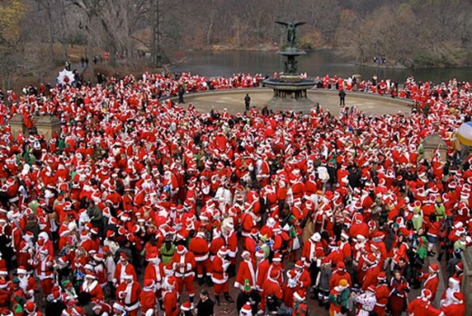 Most of the thousands of Santas that participate in SantaCon every year know a bit about holiday cheer!