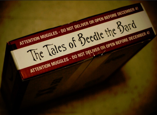 The Tales of Beedle the Bard Delivery Box