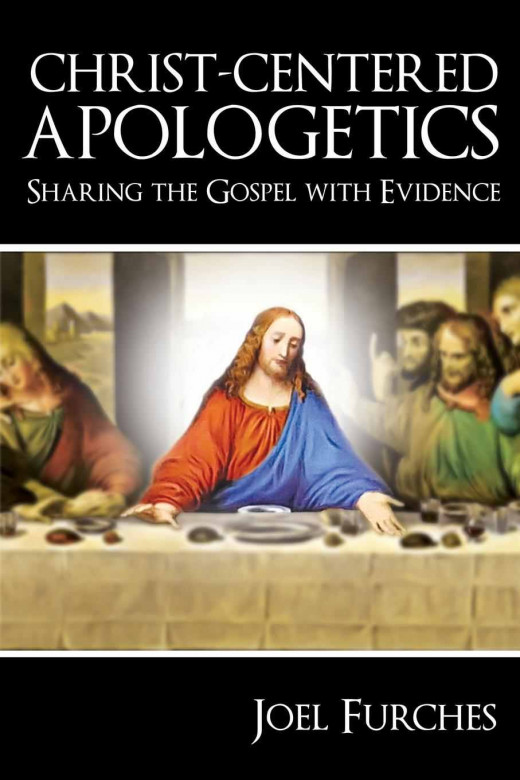 "Christ-Centered Apologetics takes its cover image from the famous ""Last Supper"" painting. However, in this image, Jesus is in sharp focus while the room and the men around him fade into the background."