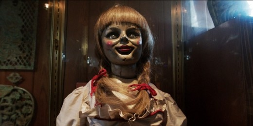 The sinister Annabelle.