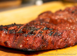 Get an indoor grill to fill that grilling void and when I done that the first thing I done was grilled me a nice juicy London broil Steak that I think you should try.