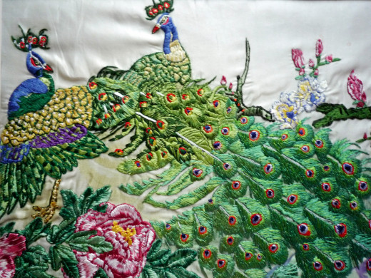 Hui (蕙) fine embroidery