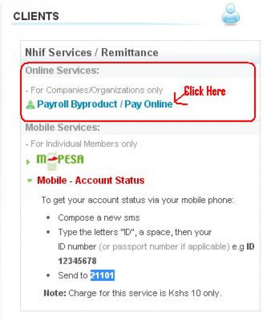 Nhif Byproduct Pay Online