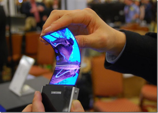 Samsung flexible screen technology