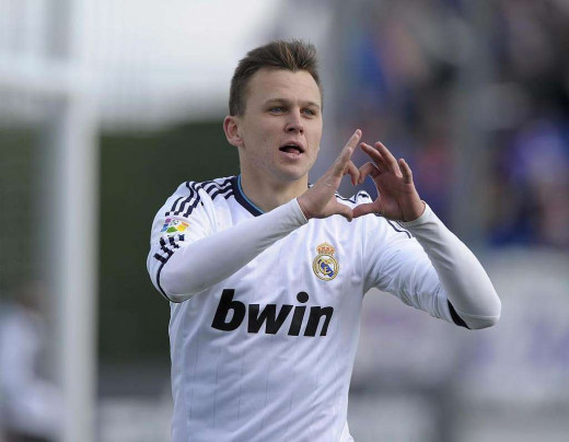 Russian winger hopes to wear Real Madrid jersey once again in the nearest future.