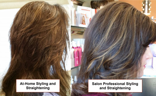 At-Home vs. Salon Hair