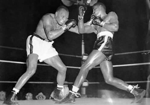 Ezzard Charles (Right) seen boxing Jersey Joe Walcott is considered one of the best fighters in boxing history.