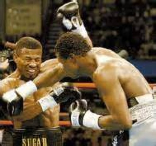 Vernon Forrest fought Sugar Shane Mosley twice and he won both bouts. The first bout featured Forrest putting Sugar Shane on the canvas twice on his way to a decision win.