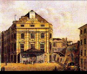 The Theater Kaertnerthor, where the Ninth Symphony premiered in 1824