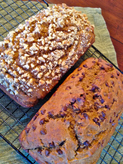 Skinny Spicy Pumpkin Bread Recipe