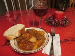 Beef Stew with Salsa