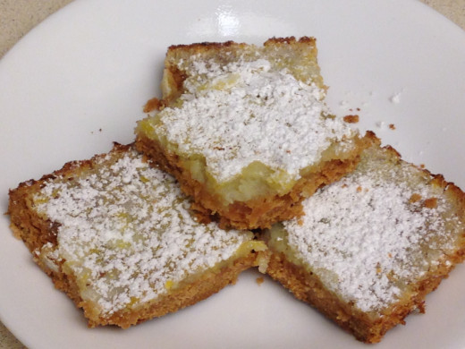 Love the Mama Lemon Bars require just a few simple ingredients