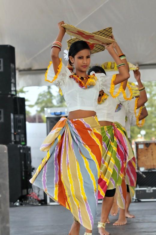Village dancing - a unique way express the village life