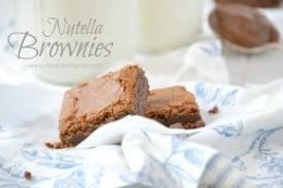 Brownies in a whole new way.