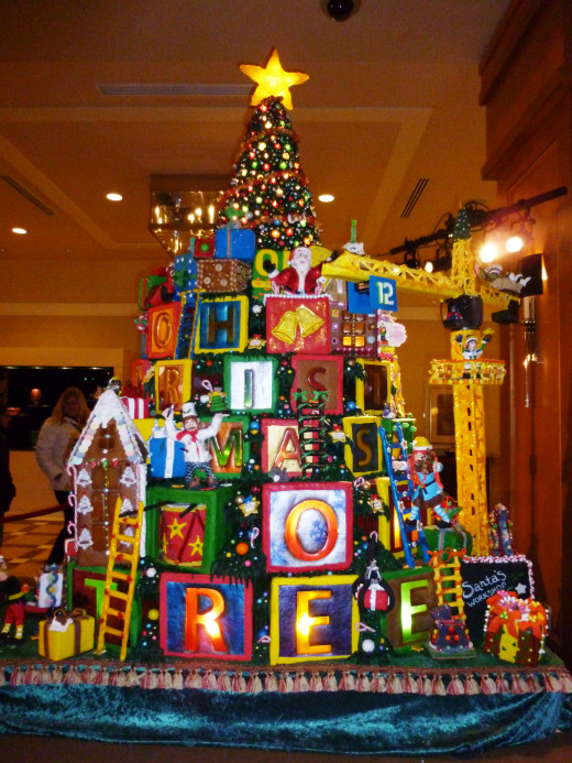Oh Christmas Tree - Seattle Sheraton Gingerbread Village 2014