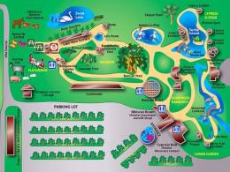 Pinecrest Gardens Map