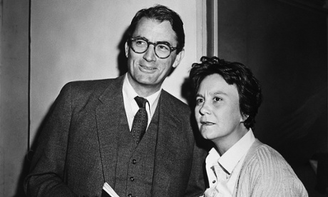 Nelle and Gregory Peck on set. They remained friends for the rest of his life. His grandson was named for her -  Harper Peck Voll.