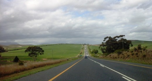 Between Heidelberg and Riversdale, Western Cape, South Africa