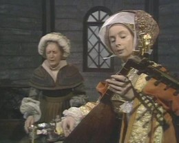 Evi Hale as Anne of Cleves