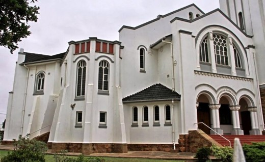Dutch Reformed church, Riversdale, Westerm Cape, South Africa