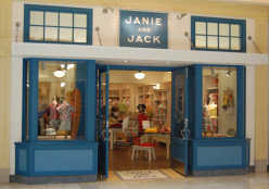 Typical Janie and Jack Mall Storefront.