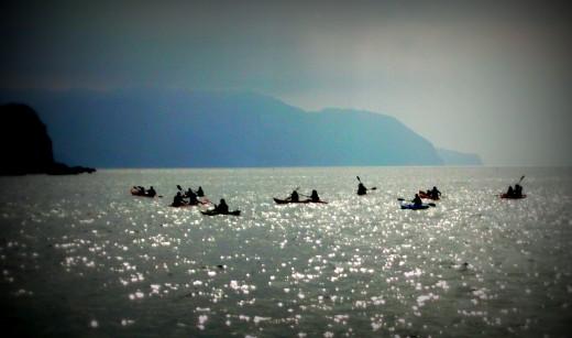 Canoeing in Nerja