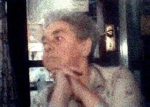 My grandma, Ivy Trigg, always loved feeding the birds as she grew older.