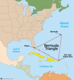 Bermuda Triangle(The Graveyard Of The Atlantic)